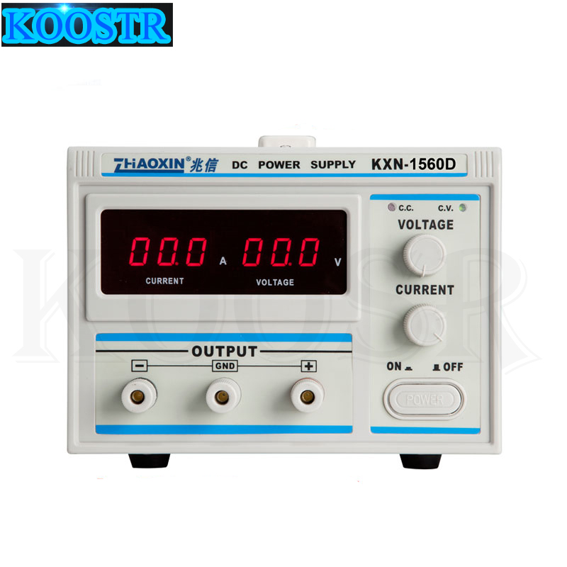 All New Digital KXN 1560D High power Switching DC Power Supply 0 15V Voltage Output 0