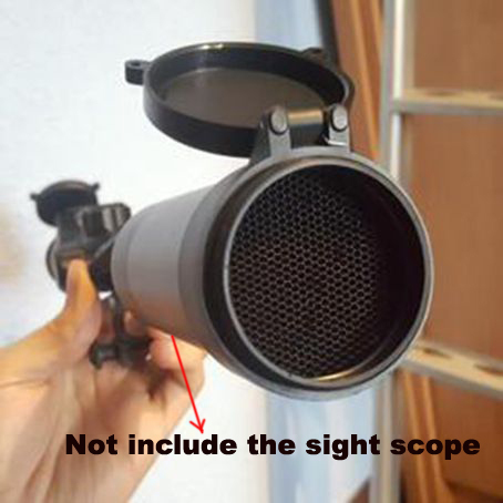 Airsoft Killflash 40mm Anti-reflection Sunshade Protective Kill Flash Cover Cap for 3-9x40 Rifle Scope