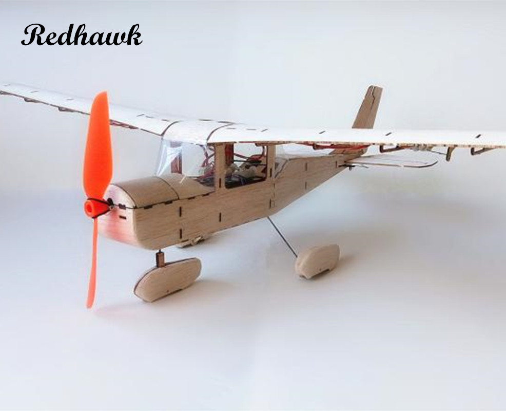 MininimumRC Plane Laser Cut Balsa Wood Airplane Kit Cessna-182 Frame without Cover Free Shipping Model Building Kit все цены