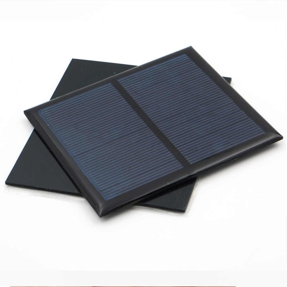 Solar Cell 5.5V Mini Solar System DIY For Battery 5V Solar Panel Phone Chargers Portable 70mA 80mA 100mA 110mA 160mA 180mA 291mA