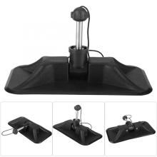 Black Kayak pulp stand PVC  Assault Boats Fixed Paddle Tool comfortable Inflatable Dinghy Plastic Accessories