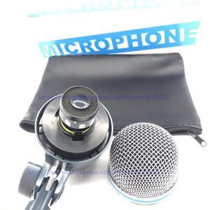 Image 3 - Microfone com tambor beta52 beta52a, 1 conjunto com estilo de baixo, microfone com BETA 52A kick, beta52, beta91, beta91a, 52, beta56a, beta91, beta91a estilo de baixo microfone