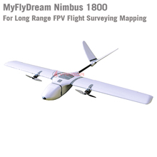 MyFlyDream MFD NIMBUS 1800 FPV Airplane and RC Plane Frame Kits Fixed Wings for Long Range Flight Surveying Mapping