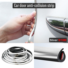 5M/10M Car Door Protector Anti-Collision Strip Seal Edge Anti-Scratch Sticker Body Safety Protection Styling Moulding