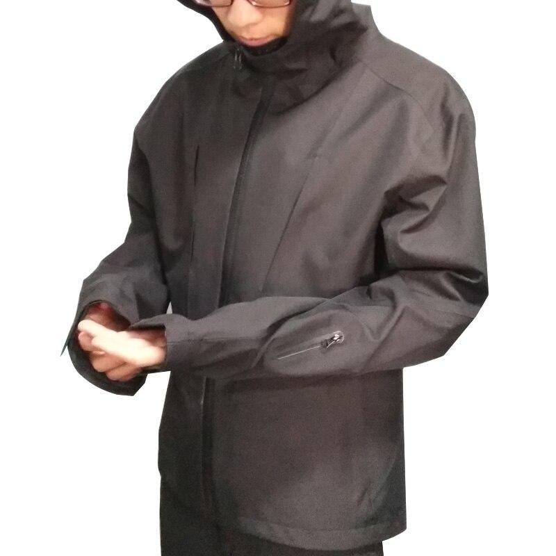 Outdoor Waterproof Hiking Jacket Men Breathable Windbreaker Lightweight Hooded Rain Wear Women Shell Jacket Water ResSports Suit