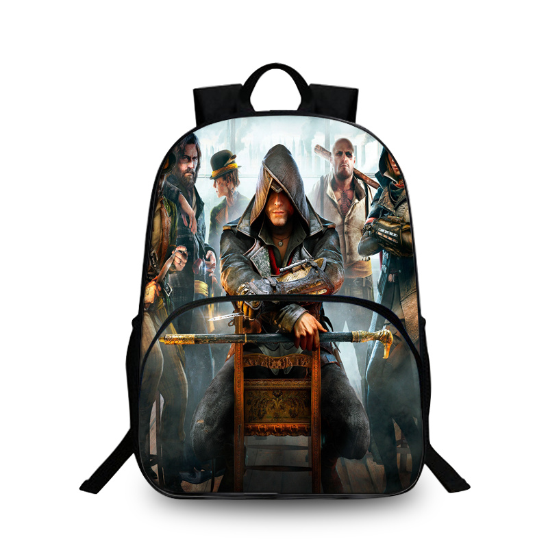 Baobeiku Assassins Creed 3D Рюкзаки модный принт Сумки для детей школьная дети рюкзак для ноутбука дропшиппинг