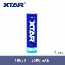 1 قطعة Xtar الأصلي قابلة للشحن 18650 3500mAh 3.7 فولت بطارية محمية مصممة ل مشاعل المحمولة امدادات الطاقة الخ