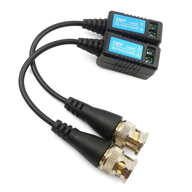 1 para HD 1080P wideo Balun skrętka nadajnik złącze wideo Balun s 1 kanał dla HD-TVI/CVI/AHD