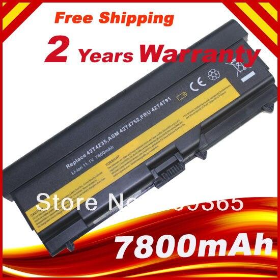 9cells 7800mAh Battery For Lenovo ThinkPad T410 T420 T510 T520 E40 E50 L410 L412 L420 L510 L520 SL410 SL510 FRU 42T4795 42T4797 new 9 cell laptop battery for lenovo thinkpad l410 l412 l520 sl410 sl510 t410 l420 l421 e40 e50 42t4912 42t4911 fru 42t4751