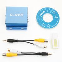 Mini C-DVR Wideo/Audio Recorder Detekcja ruchu Rejestrator DVR Karty TF do IP CCTV Kamera z Zasilaczem