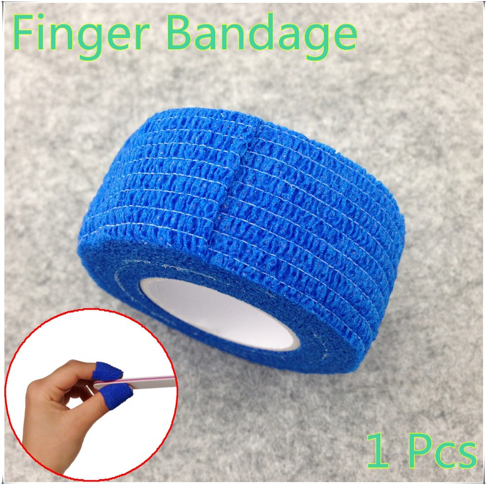 Finger File Bandage Strip Protection Flex Wrap Color Rolls Manicure Tool Accessory + Free Shipping (NR-WS10)