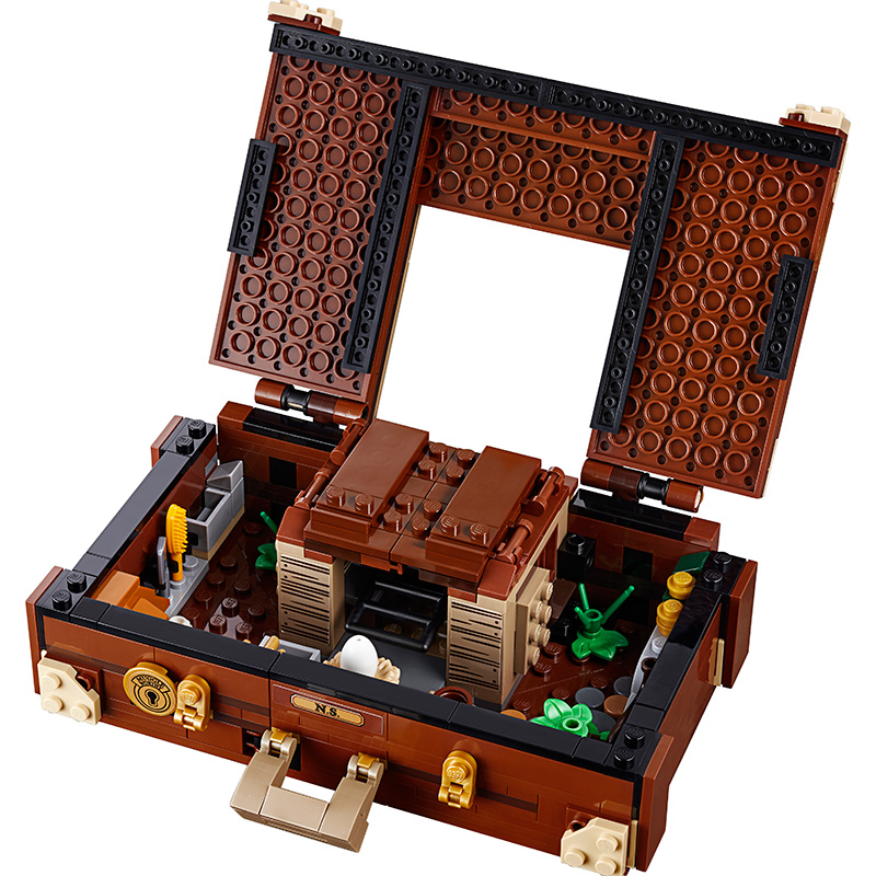 New Fantastic Beasts Newt 39 s Case of Magical Creatures Compatible Potter 75952 Building Blocks Christmas Toys Gifts in Blocks from Toys amp Hobbies