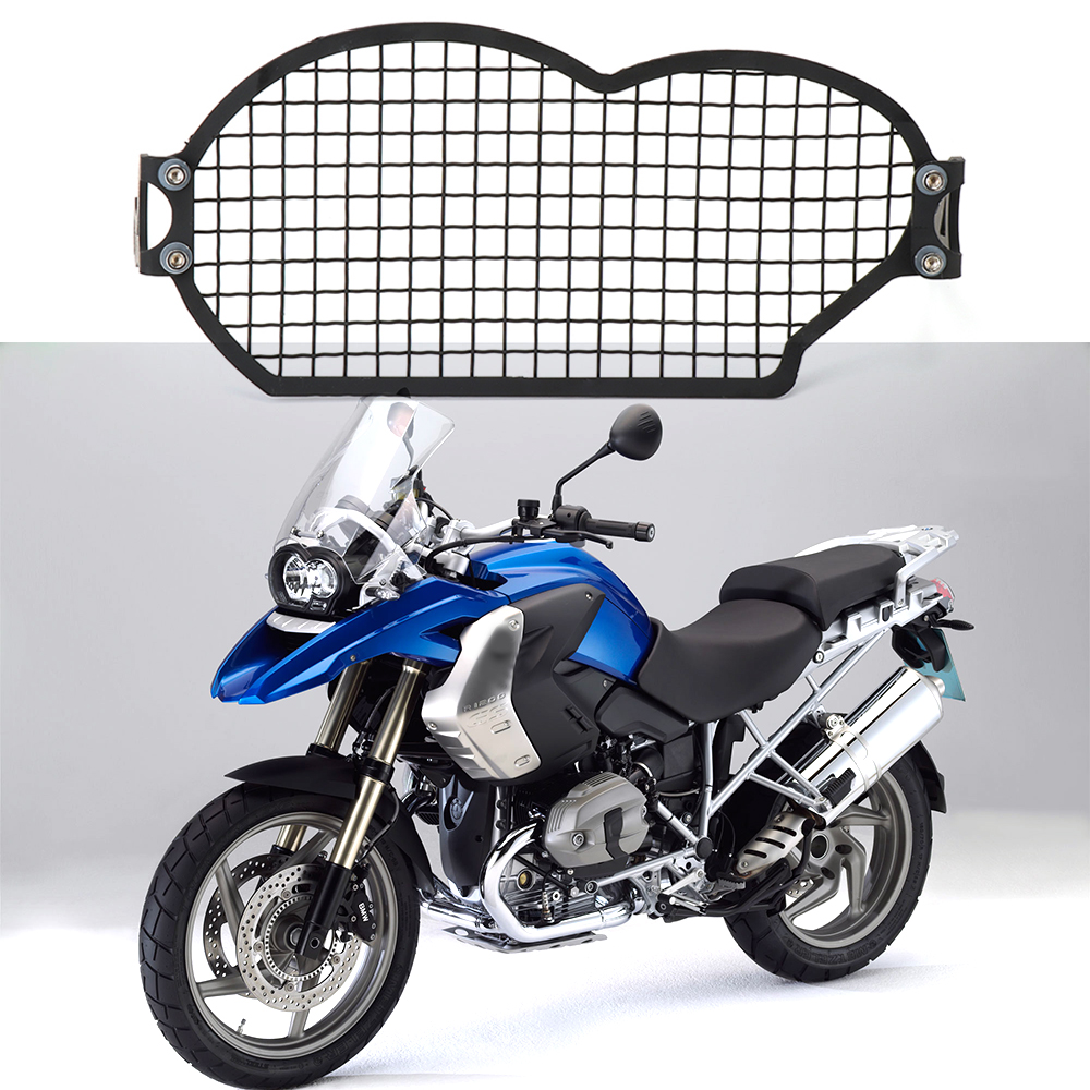 For BMW R1200GSA R 1200 GS R1200GS Adv 2004-2012 Motorcycle Stainless Steel Headlight Guard Protector Cover Protection GrillFor BMW R1200GSA R 1200 GS R1200GS Adv 2004-2012 Motorcycle Stainless Steel Headlight Guard Protector Cover Protection Grill