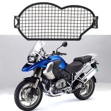 For BMW R1200GSA R 1200 GS R1200GS Adv 2004-2012 Motorcycle Stainless Steel Headlight Guard Protector Cover Protection Grill