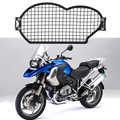 Pour BMW R1200GSA R 1200 GS R1200GS Adv 2004-2012 moto en acier inoxydable phare garde protecteur couvercle Protection Grill