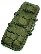 """De Nylon de 100 cm/39.4 """"Caza Mochila Táctica Militar Al Aire Libre Cuadrado Bolsa de Transporte Rifle Escopeta Pistola Funda de Protección Mochila"""