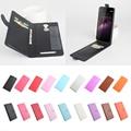 Lichia para homtom ht17 case capa, boa qualidade new leather case + capa luxo para homtom ht17 pro celular shell em estoque