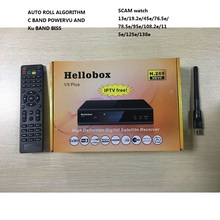 NEW VERSION IPM HD/PSI HD SATELLITE RECEIVER HELLOBOX V5+-in