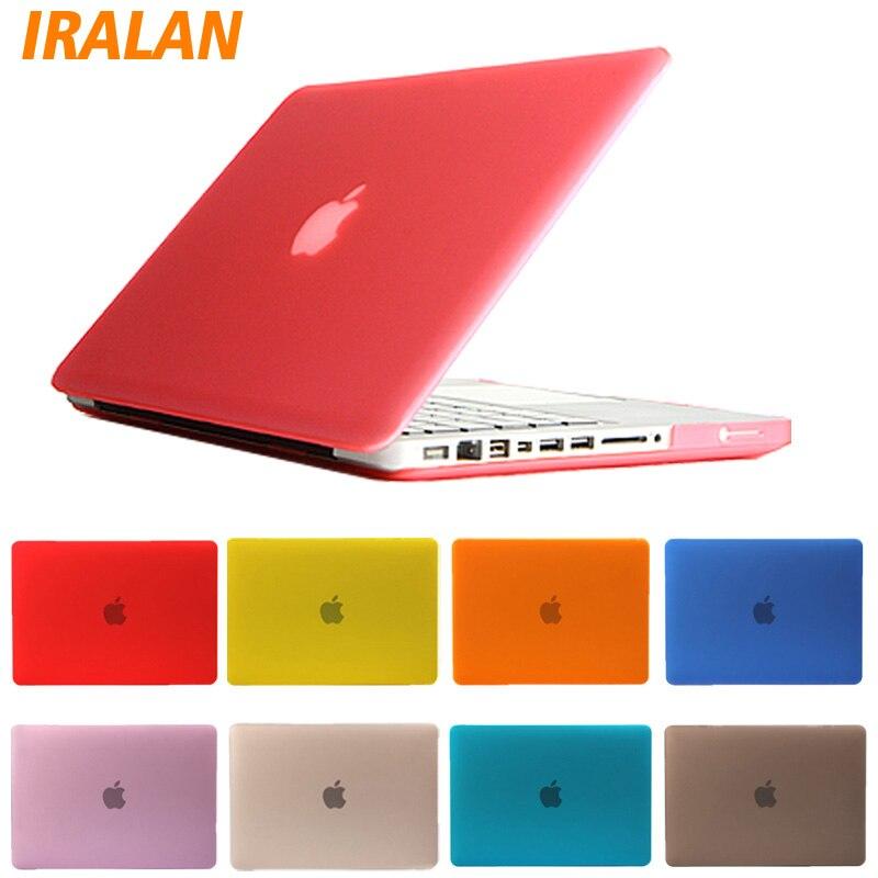 Nouveaux produits dbe71 cd434 € 10.1 |Pochette pour ordinateur portable en cristal dur mat pour Apple  Macbook Air 13 accessoires pour Mac book Pro Retina 11 12 15 pouces-in  Étuis ...