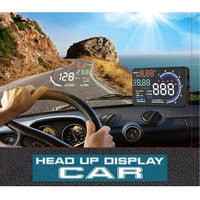 New Arrival Speed Warning System A8 5 5 Car HUD Head Up Display OBD II 2