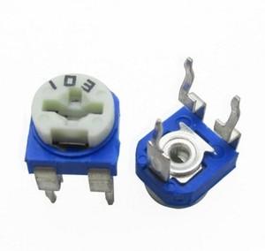 500 шт./лот RM065 RM-065 100 200 500 1K 2K 5K 10K 20K 50K 100K 200K 500K 1M ohm Trimpot Триммер Потенциометр переменный резистор