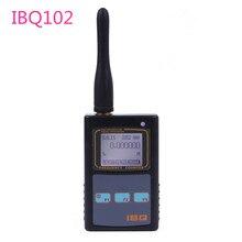 Faixa larga 10 hz 2.6 ghz do medidor do contador da frequência de digitas handheld ibq102 para o medidor portátil da frequência do rádio de baofeng yaesu kenwood