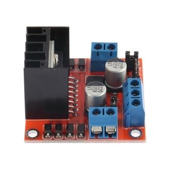 1 unidad Dual H puente CC paso a paso controlador de Motor módulo L298N caliente en todo el mundo
