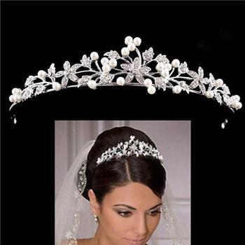 Kryształowe ślubne diademy ślubne i korony ślubne akcesoria do włosów ślubne biżuteria do włosów Tiara z kryształkami oblubienica tanie i dobre opinie MANSATI CN (pochodzenie) Ze stopu cynku moda KRYSZTAŁ Tiaras Kobiety TRENDY Wedding Crown Wedding Tiara CR109 PLANT Silver Rosegold
