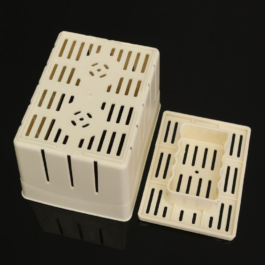 Hot Sale DIY Homemade Tofu Press-Maker Mold Box Plastic Soybean Curd Making Machine Kitchen Cooking Tools