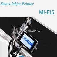 잉크젯 인쇄 기계 220 v 산업 날짜 코드  바코드 잉크젯 프린터 플라스틱 병 수 인쇄 장비 MH-E1S
