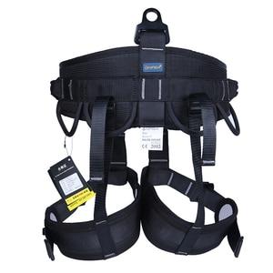 Image 2 - Xinda acampamento ao ar livre caminhadas escalada arnês metade do corpo cintura suporte cinto de segurança