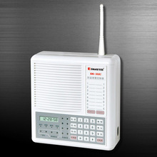 4 wired +8 wireless zones with microcomputer control Anti-theft alarm controller