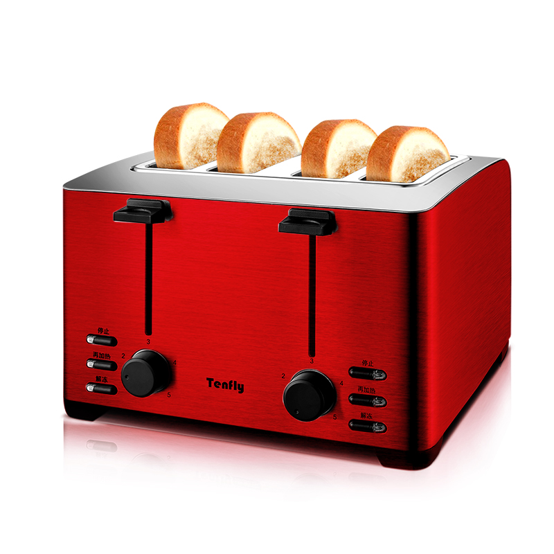 Toaster Home 4 Piece Breakfast Toaster THT-3012B Dirt Driver Full Automatic ToasterToaster Home 4 Piece Breakfast Toaster THT-3012B Dirt Driver Full Automatic Toaster