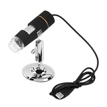 Digital 2MP 50-500X USB 3.0 8LED Microscope Endoscope Video Camera Magnifier