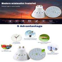 Высокое качество светодиодный grow light MR16/E14/GU10/E27 лампа для выращивания лампы AC220V водить 60leds/80 светодиодов лампе Плант расти blulb лампа