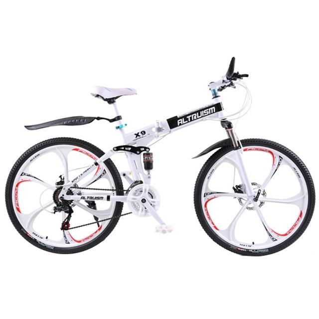 АLTRUISM X9 Горный Велосипед Склданой Стальной (Детский или Взрослый) Для 160-185см Людей 21 Скорости 26 Дюймов