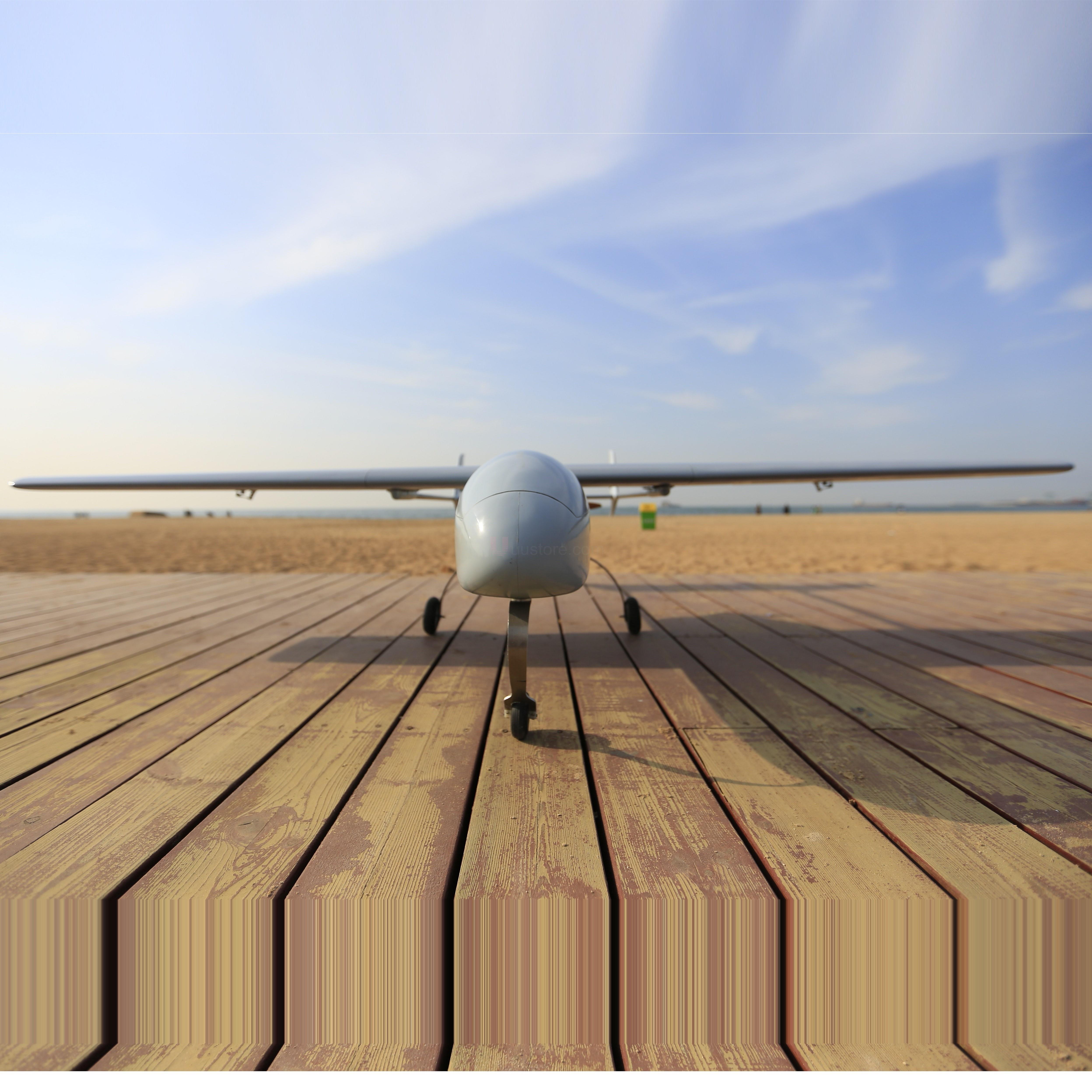 Mini Skyeye 2.6m UAV T tail platform carbon fiber Tail Suit Requirement 30-35cc <font><b>engine</b></font> <font><b>RC</b></font> Airplane Kit Plane