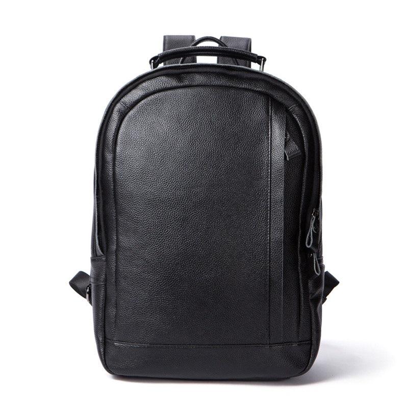 Male Cowhide Genuine Leather Men backpack Large Capacity Crossbody Bags for Men ipad Flap Satchels Leather Black Men BackpacksMale Cowhide Genuine Leather Men backpack Large Capacity Crossbody Bags for Men ipad Flap Satchels Leather Black Men Backpacks