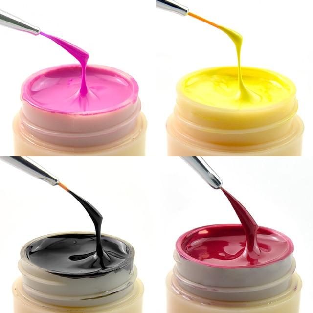 Venalisa UV Gel nouveau 2019 ongles Art conseils conception manucure 60 couleur UV LED imbiber peinture pour travaux manuels Gel encre UV Gel vernis à ongles laque 3