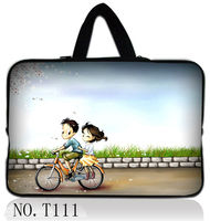 Bicycle Lovers 13 13 3 Black Laptop Sleeve Bag Case Handle For Apple Macbook HP Dell