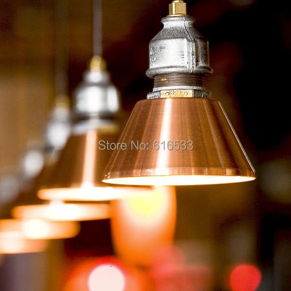Amercia Style Industrical Design Vintage Loft Water Pipe Bar Pendant Lamp Bar Coffee Restaurant Stair Decoration Lighting