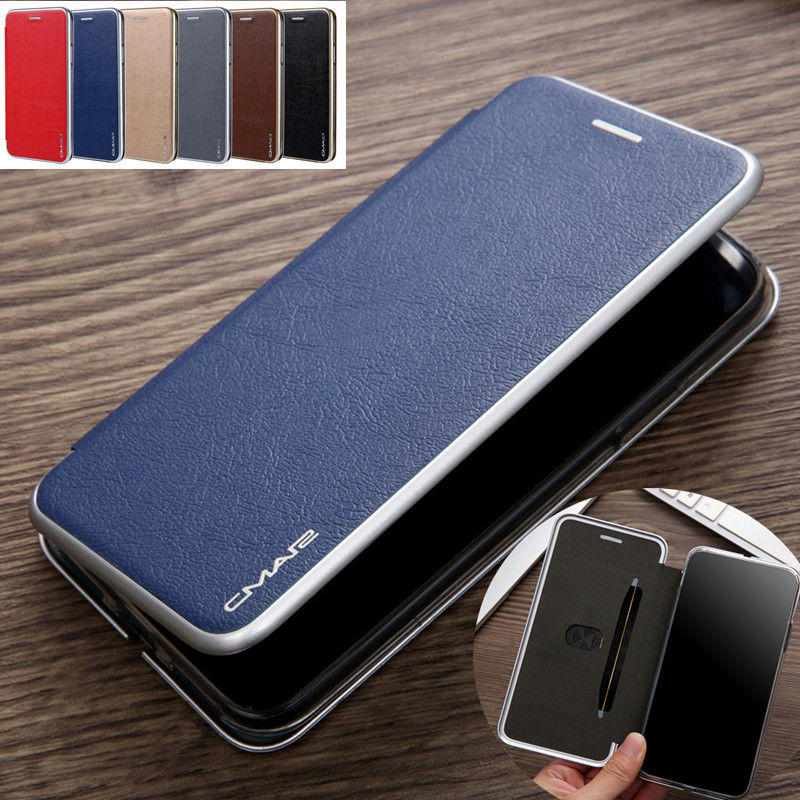 pu Leather Wallet Card Slot Slim Case Magnetic Flip Cover For iPhone XS Max XR 6S Innrech Market.com