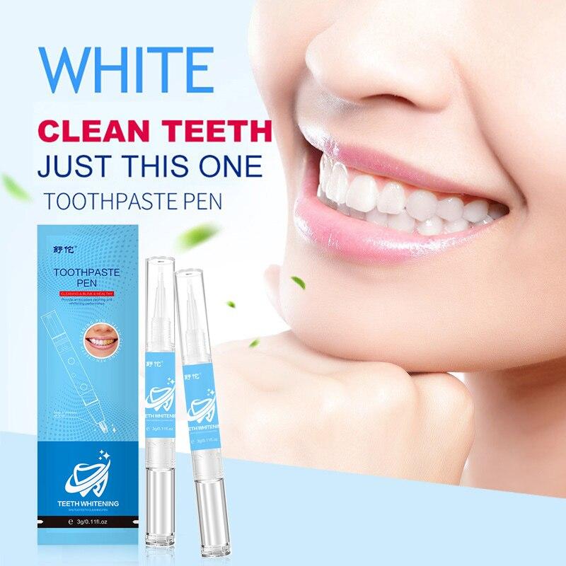 Zahnaufhellung 1 Stücke Zähne Bleaching Stift Bleichen Fleck Entferner Zahn Gel Instant Aufheller Dental Werkzeug Zahn Reinigung Bleistift Oral Hygiene Pflege Mundhygiene