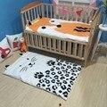 Envío libre nuevo bebé recién nacido manta swadding algodón animal print bedding niños colcha de verano infantil alfombra del piso alfombra de juego ma