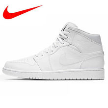 682a7698f Nike Original New Arrival Men s High Top Lightest Leather Outdoor  Basketball Shoes Sneakers 554724-110 sneakers men. US  90.78   Pair Free  Shipping