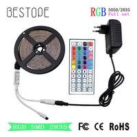 SMD 2835 RGB LED Strip NON Waterproof 54LED M 5m 270LED DC 12V LED Light