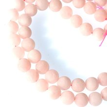 10mm Matte Rose Quartzs Gems Round Loose Beads(China)