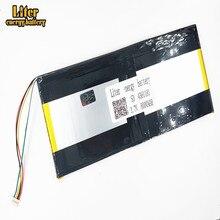 Пять нитей литий-ионный аккумулятор перезаряжаемый аккумулятор 3,7 в 4381181 8000 мАч для ноутбука аккумулятор планшет ПК M9 Pro 3780185