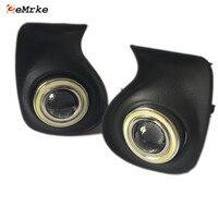 EEMRKE автомобильный Стайлинг светодиодный Ангельские глазки DRL Габаритные огни для Lexus CT 220 h Ct200h A10 Галогенные Противотуманные фары с H11 55 Вт св