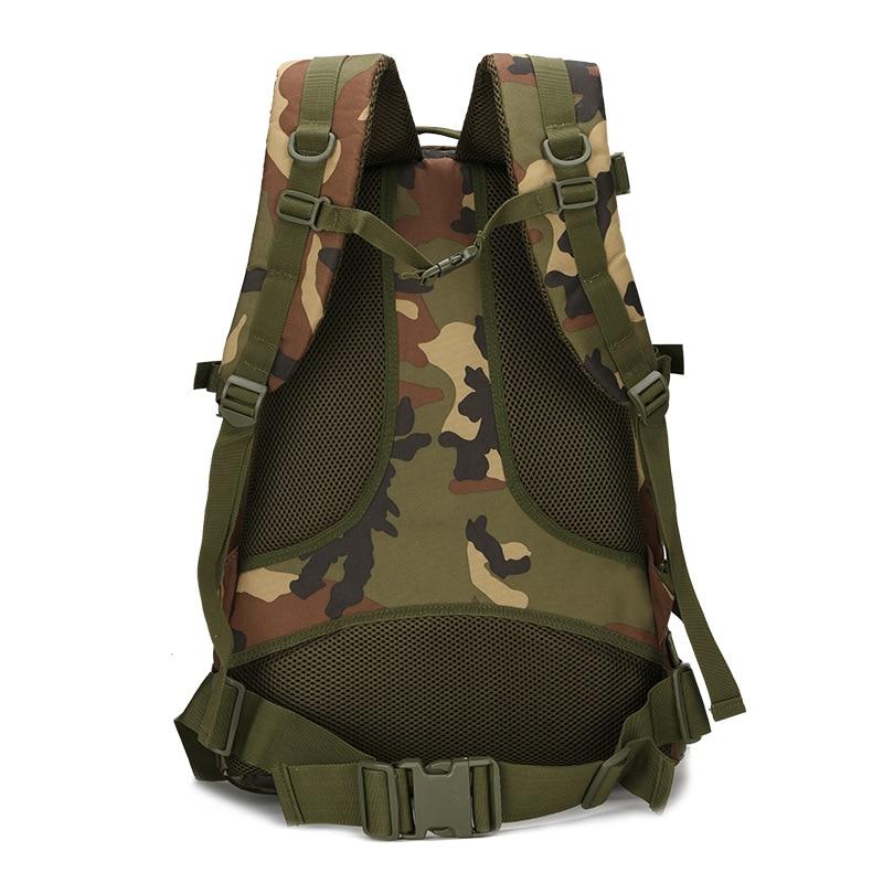 Men Women Outdoor Military Army Tactical Backpack Trekking Sport Travel Rucksacks Camping Hiking Trekking Camouflage Bag ALS88